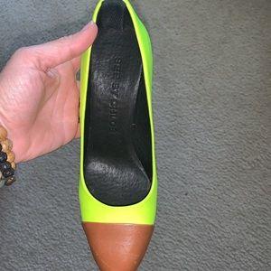 Chloe designer heels